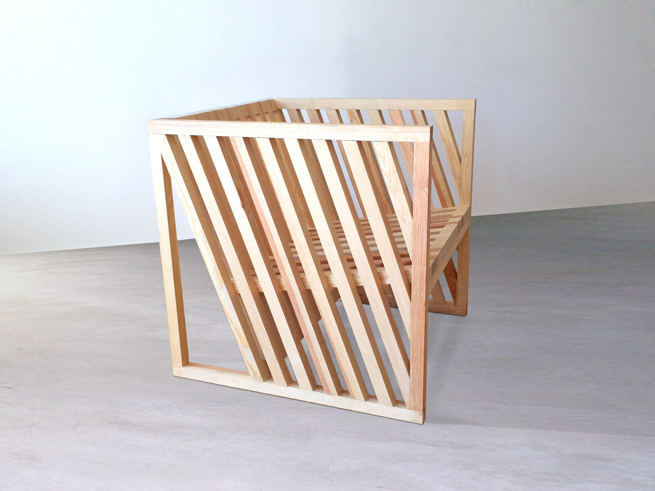 A Chair Born From Exploring The Cube Design Milk