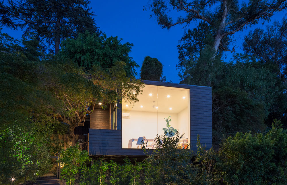 A 200-Square-Foot Writer's Studio on a Hillside
