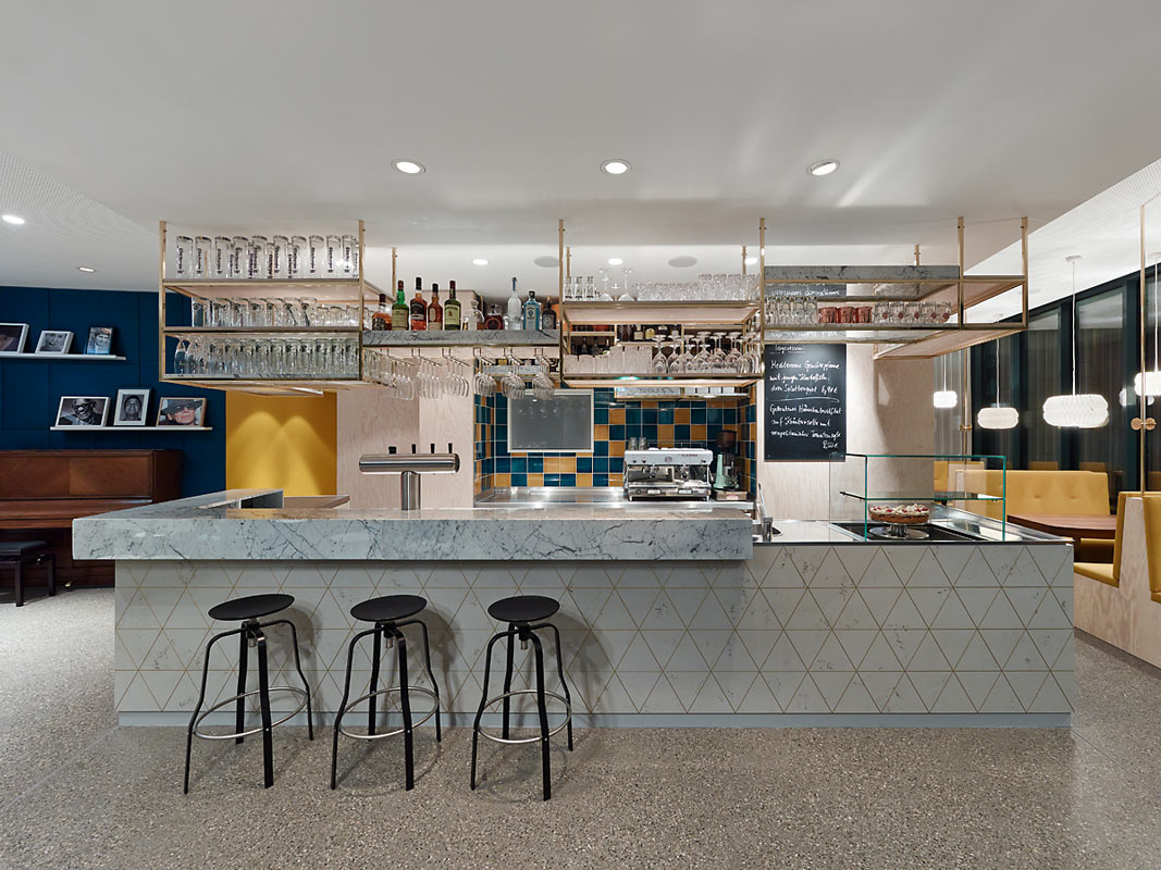 Popular cafe gets revamped for many functions design milk