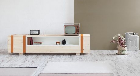 A Sideboard Inspired by an Old Ammunition Chest