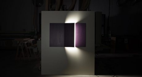 John McCracken-Inspired Lighting by Sergio Mannino