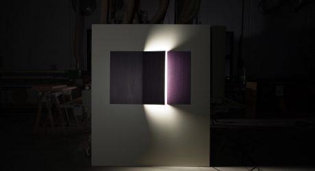 John McCracken-Inspired Lighting by Sergio Mannino