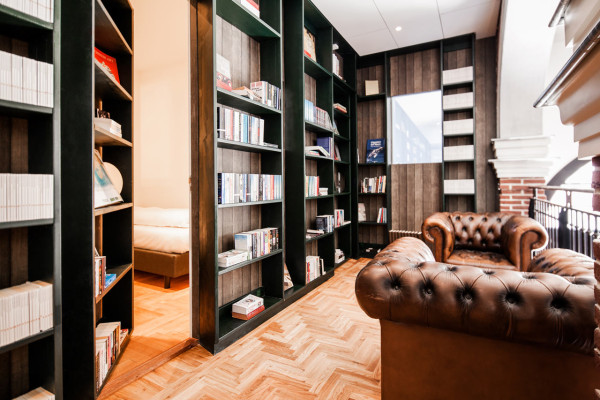 Secret Bookcase 'M' by Daan Brandenburg
