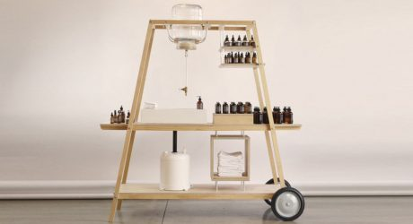 A Mobile Laboratory for a Skincare Brand's Retail Store