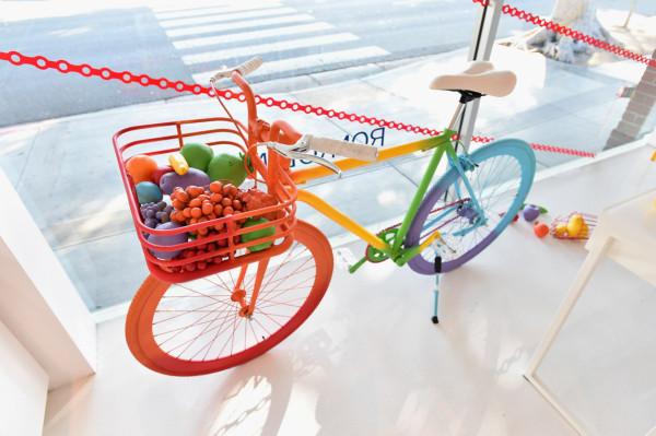 Fallen Fruit Art Bike