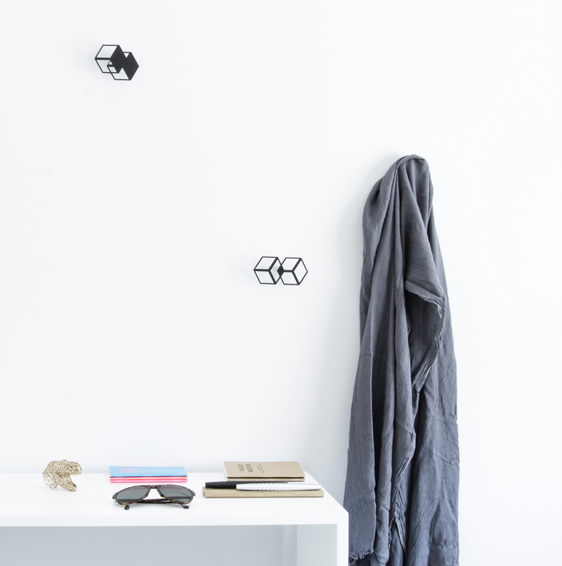 Gancho: A Collection of Geometric Wall Hangers