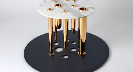 A Side Table that's Meant to Be More Like a Piece of Jewelry