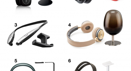 A Fine Pairing: The Best in Wireless Headphones and Matching Stands