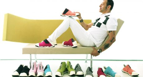 FESSURA Launches Limited Edition Sneakers by Karim Rashid