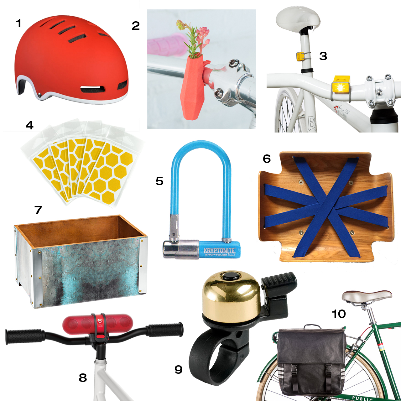 10 Modern Accessories to Trick Out Your Bicycle