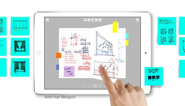 Morpholio's Journal App is a Digital Sketchbook - Design Milk