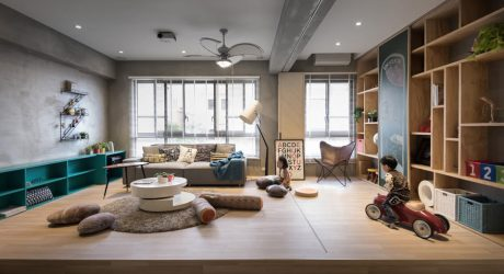 A Playful Residence for Kids to Run Around & Have Fun