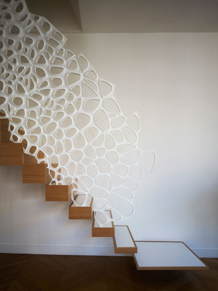 stairs reimagined 12 creative modern staircases. Black Bedroom Furniture Sets. Home Design Ideas