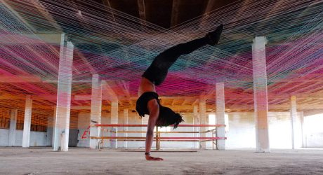 Yarn Installation Aims to Help You Experience Music Physically