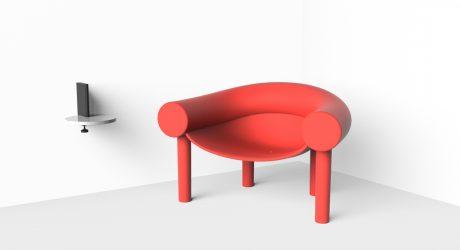 A Cartoon-Like Chair by Konstantin Grcic for Magis