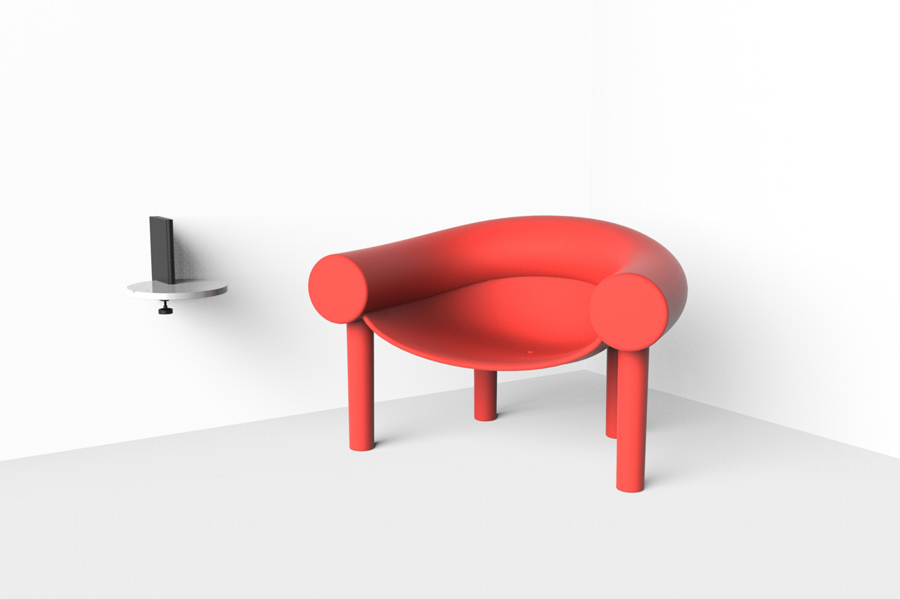 a cartoon like chair by konstantin grcic design milk. Black Bedroom Furniture Sets. Home Design Ideas