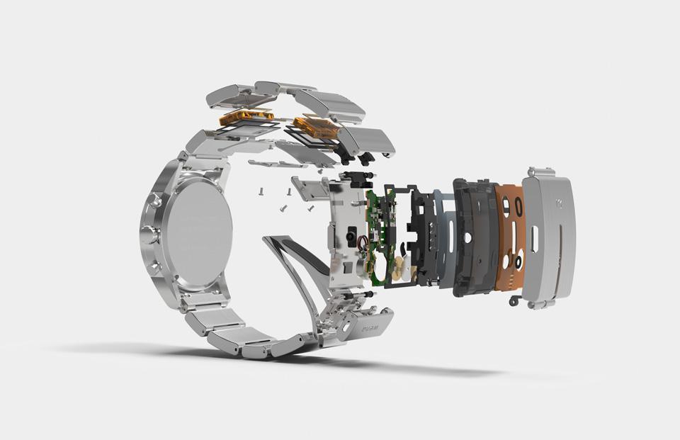 Sony Wena Wrist Smartwatch Hides the Tech Inside Wristband