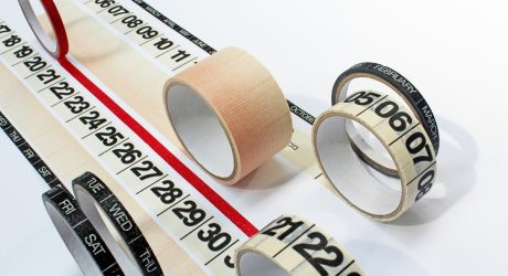 Design Your Own Calendar with Tape