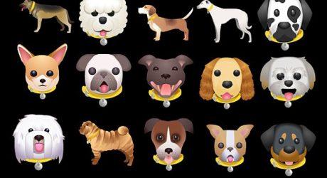 Dog Emoji Keyboard from Dogs Trust