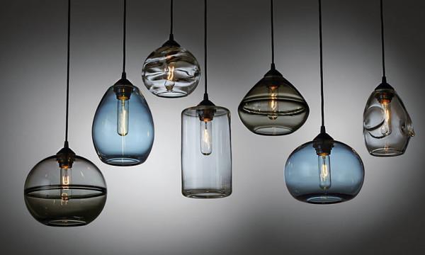 Glow globe pendants