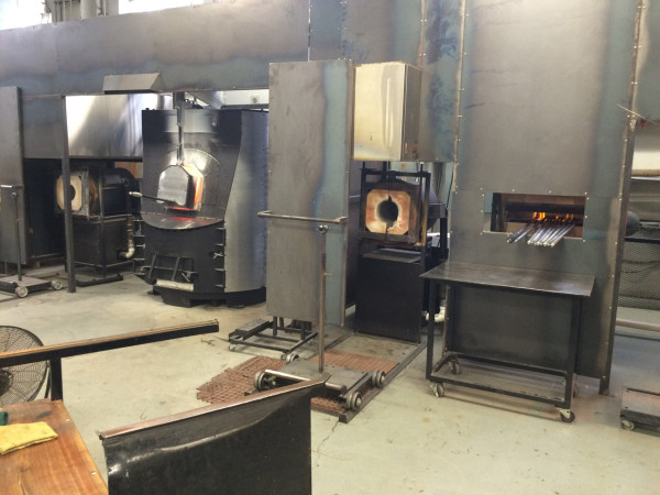 Ovens with Bell steel