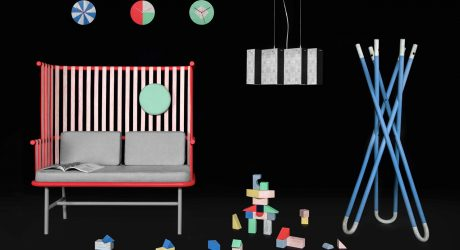 out for space Reimagines Rattan in a New Colorful Collection