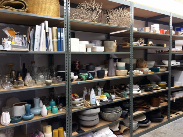 Prop room - this was just a quarter of it!