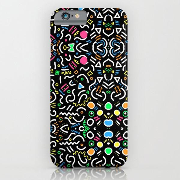retro-confetti-iphone-case