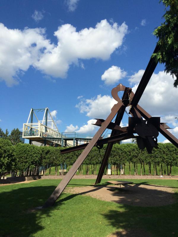 Sculpture by Mark di Suvero
