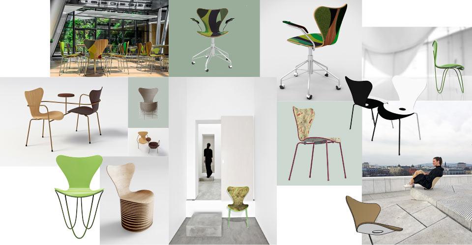 7 Architects Reimagine Arne Jacobsen's Series 7 Chair