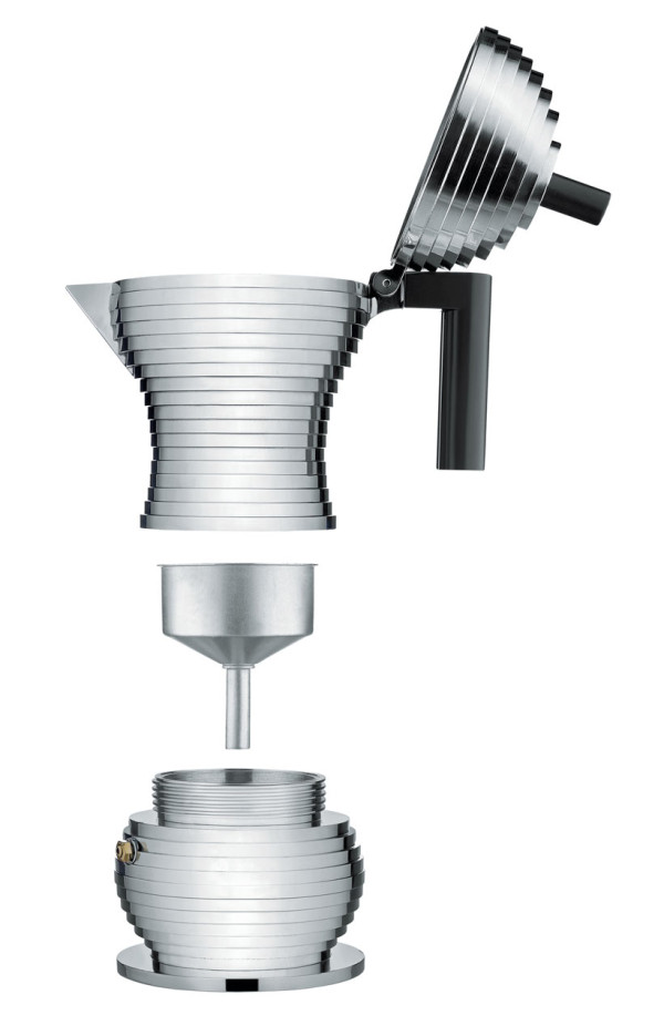 Pulcina espresso coffee maker by Michele De Lucchi