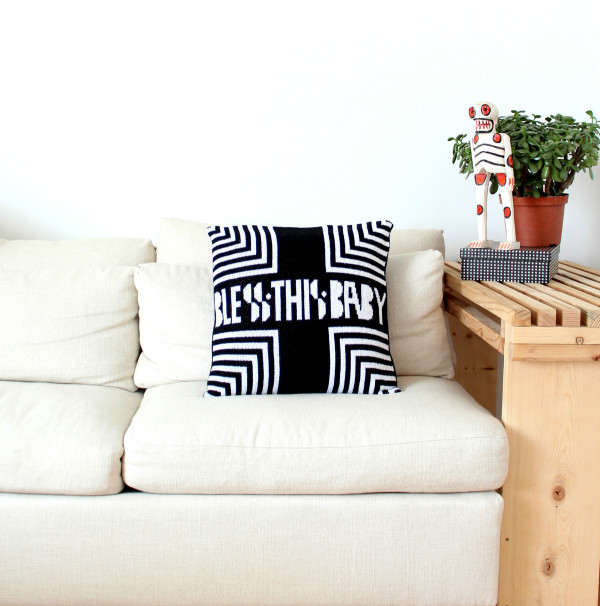 Blessed Baby Pillow Cover 2 - DittoHouse