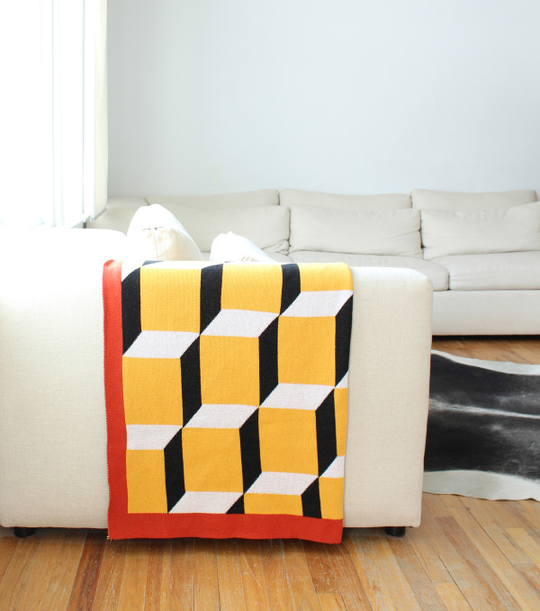 Block Party Throw Blanket 2- DittoHouse