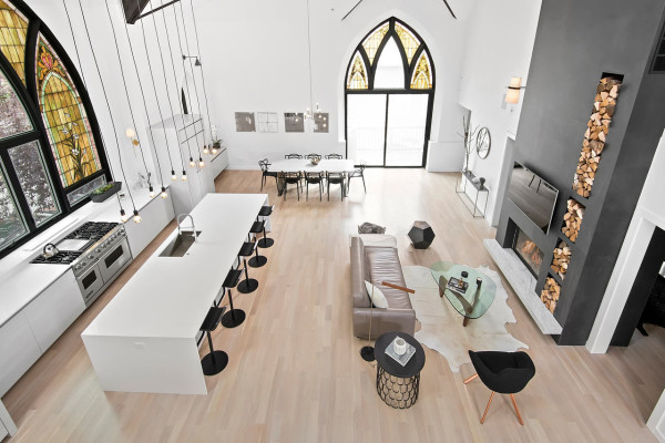 From Church to a Single-Family Home - Design Milk