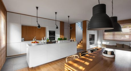 A Multifunctional House for a Family with Small Children