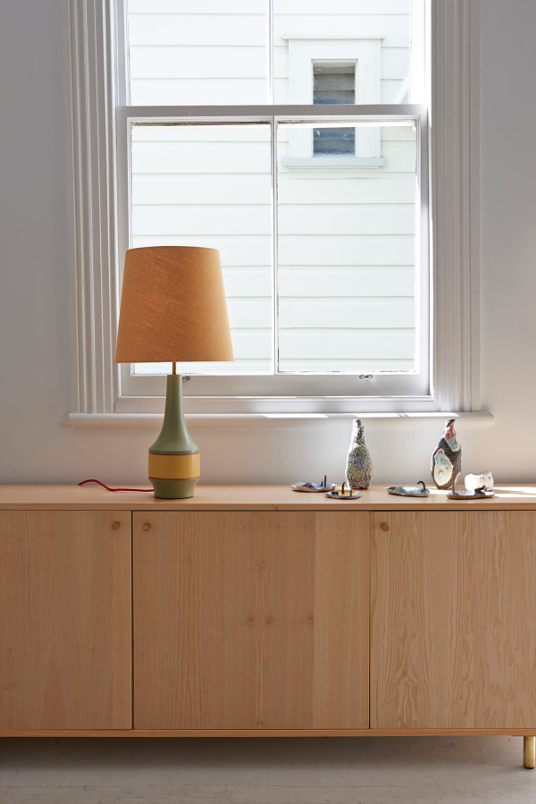 D&B-DS-hand-turned-lamp,-Sideboard-and-Jessica-Hans