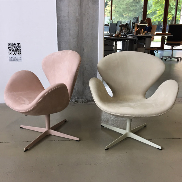 New Swan chair releases