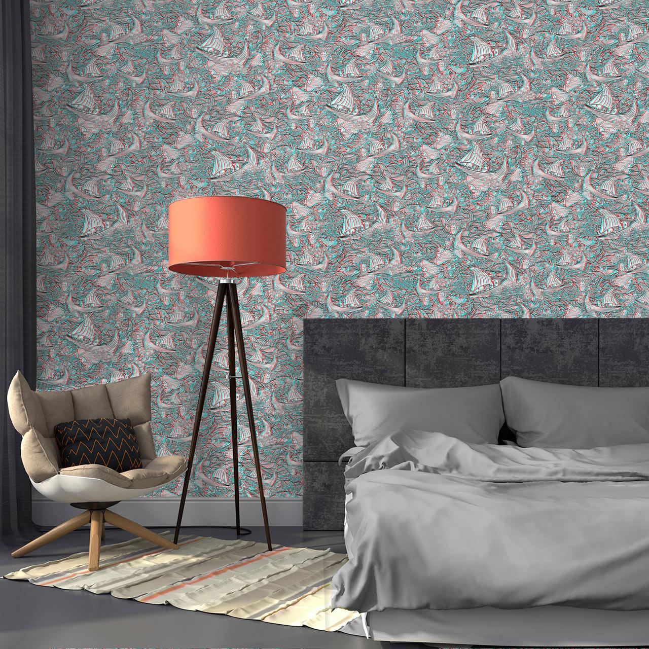 3d wallpaper design - How Twenty2 S Vikingr 3d Wallpaper Was Designed