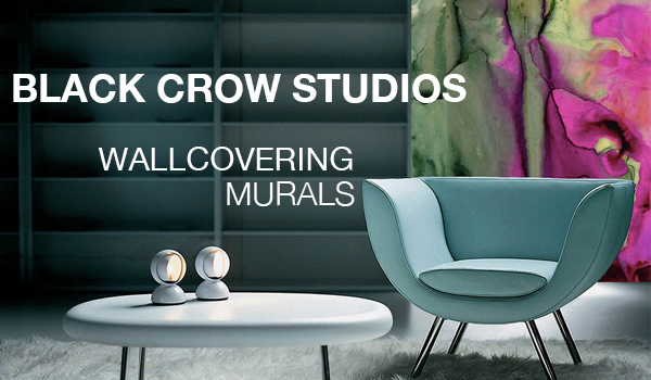Creative Wall Murals For The Home by Black Crow Studios