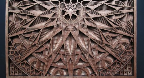 The Jaw-Dropping Laser-Cut Wood Art of Gabriel Schama