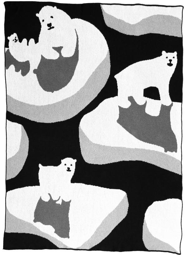 Ice Bear Throw blanket 3 - DittoHouse