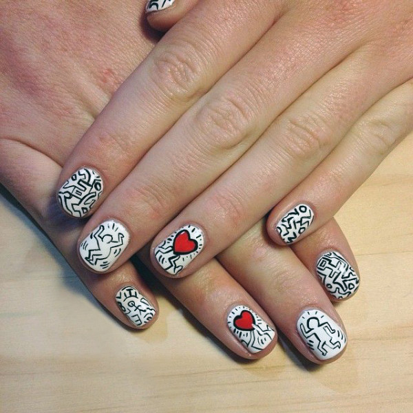 Image from Trophy Wife Nail Art