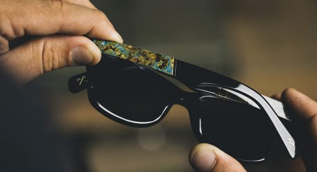 Sunglasses Created Through Natural Oxidization