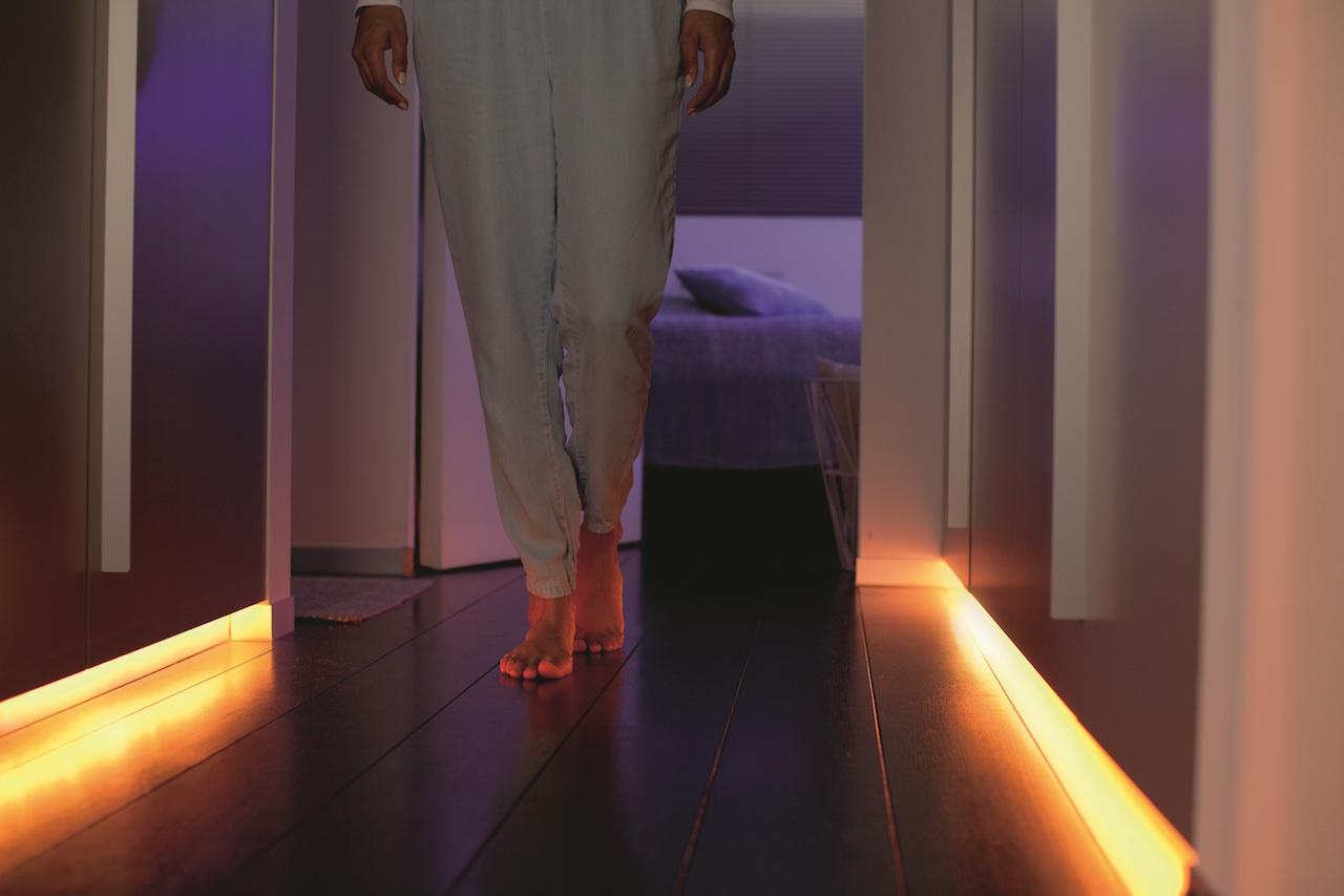 philips hue lightstrip plus is brighter and better design milk. Black Bedroom Furniture Sets. Home Design Ideas