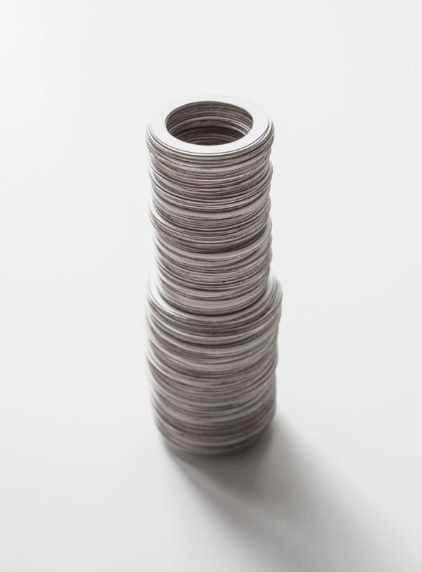 Redefining-Paper-12-Porcelain-Vase-Dan-Hoolahan