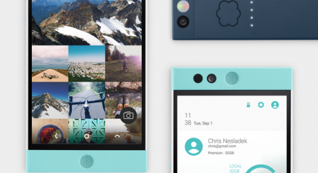 """A """"Design Forward"""" Cloud Powered Android Smartphone"""