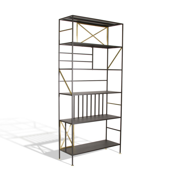 Roundup Cool Bookshelves 5 Sauder Boutique