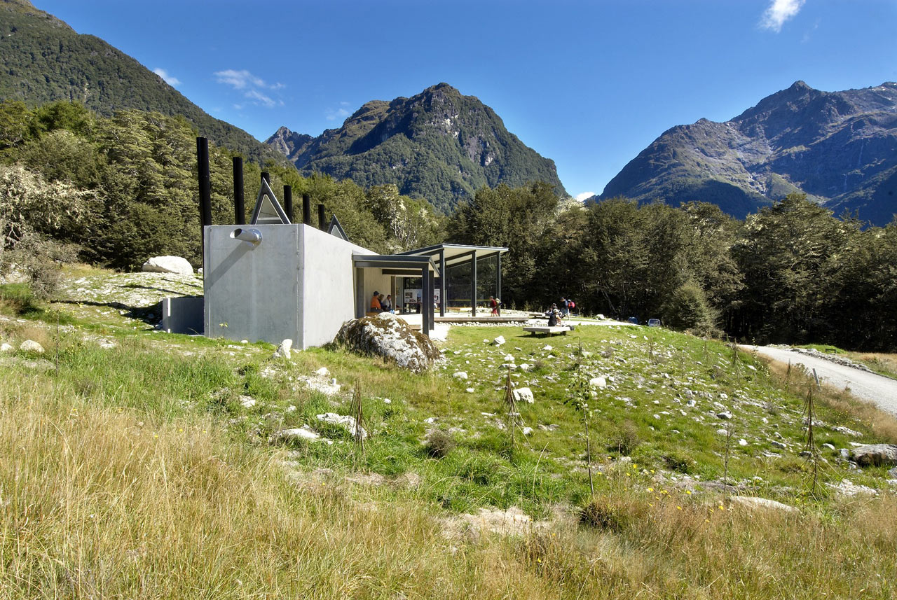 Routeburn Shelter in New Zealand