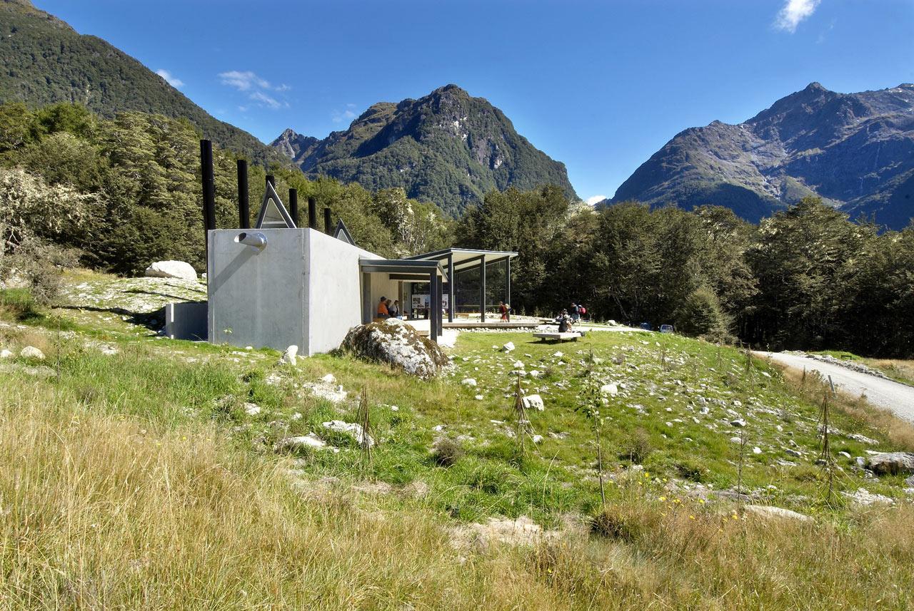 Routeburn shelter in new zealand design milk for Landscape design jobs new zealand