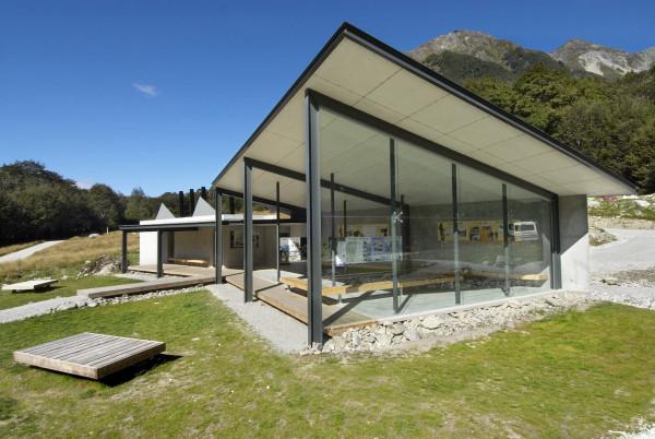 Park Shelter Designs : Routeburn shelter in new zealand design milk